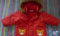Size 1 girl's winter jacket In excellent condition. I