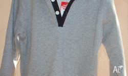Size 3t grey hooded jumper brand new with tags Please