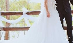 Beautiful genuine designer Maggie Sottero wedding dress