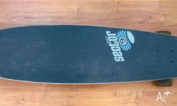 Longboard, sale because I come back home to France.
