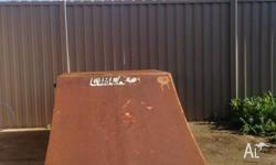 skateboard ramp Great condition and lots of fun,