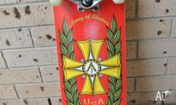 "BRAND NEW ""Army of Skaters"" Complete Skateboard Double"