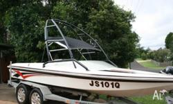 Raider Ski Boat 350 chev New crate motor only 60 hour