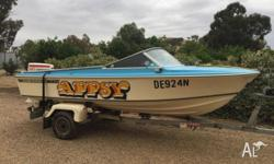 "Ski Boat / Fishing Boat FOR SALE. ""Appsy"" is a"