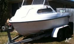 Have a unfinished project boat, skimmer craft wasp 155,