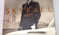 James Bond Skyfall Bluray Steel case edition Watched