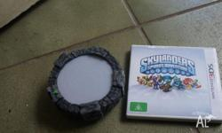 3DS skylanders game with portal. Only used a handful of
