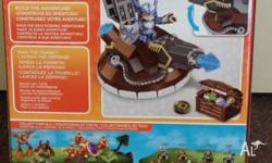 Skylanders Giants Mega Blocks Brand New Sky Turret