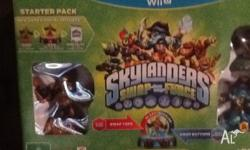 BRAND NEW, NEVER OPENED SKYLANDERS SWAP FORCE WiiU