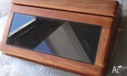 New traditional style timber/glass deck skylight hatch,