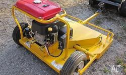 Millers Falls (USA) slasher/mower with electric start