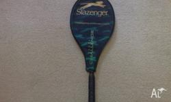 Hey guys i have up for grabs is this slazenger tennis