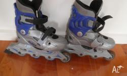 Sliders Roller blades/skates for kids aged 6-9nyrs.