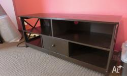 95% new small brown TV cabinet, in very good