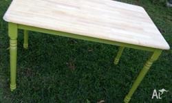 Small shabby chic dining table. Could also be used as a