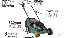 Ozito Ecomow electric mower. Easy stearing, near new