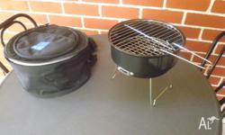 Small portable griller and carry case. Never been