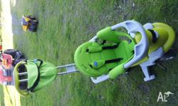 2012 Model Smart Trike All In One 3 - colour green. In