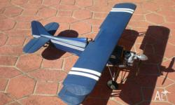 Model aircraft is in good condition Solartex covering.