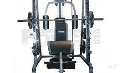 Force USA smith machine combo with cable cross over and