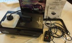 Hurricane1300 Chauvet Smoke Machine (Original Box with