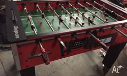 Snap on foosball table Limited addition snap on