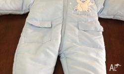 Padded snow suit 3-6 months Tags still no never used