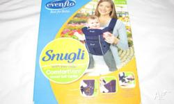 snuggli baby carrier ideal for hands free shopping or
