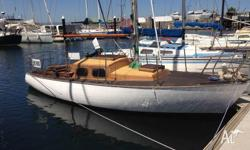 """Sobraon"" 7.1 metre (23 Foot) timber sloop John Hacker"