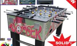 Soccer table XMAS SPECIAL, soccer table WS-5F02 Model