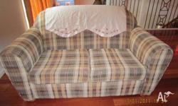 2* 2 seater sofa. cotton cover good condition. moving