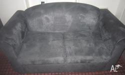 x1 2 seater Sofa and x1 2 seater Sofa bed Gray color,