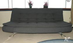 This stylish sofa is easy to convert into a double bed