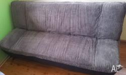 Sofa bed in excellent condition. Grey fabric - washable