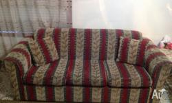 3+2 seater sofas-the 2 seater has hardly been used.