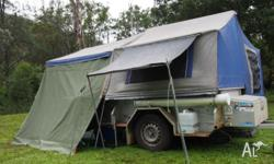 This trailer has been our family holiday accommodation
