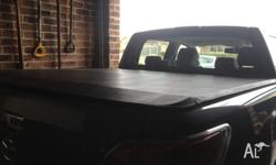 Soft Tonneau cover to suit Mazda BT 50 2012 in good