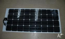 Monocrystalline cell solar panel Acrylic Semi Flexible