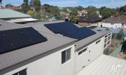 - solar panels installation - liaising with energy