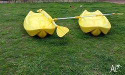 SOLD pending pick up Two kids kayaks for sale. Approx
