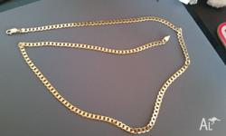 AS the title says this is a solid 9crt gold chain (not
