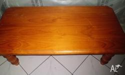 Solid Pine Coffee Table 1180mm Long X 590mm Wide X