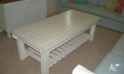 Sold TImber white Coffee Table. See other ad for