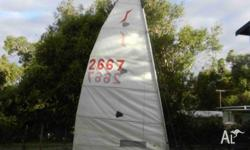 'Solo' single-handed sailing dinghy Registration no.