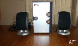 2 Side Speakers and Sub Woofer Speaker System.