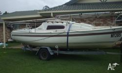 Ready to go. Good for day sailing the Brisbane River or