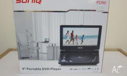 SONIQ 9'' Portable DVD Player (RRP $128) Now 50% off