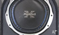 I am selling a 1300 watt Sony Xplod Subwoofer. Cost me