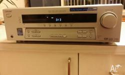 SONY AMPLIFIER RECIEVER 5X100 WATTS PER CHANNEL TUNER