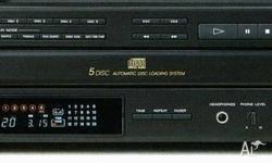 Sony CDP- C315M 5 Disc CD Player In Excellent